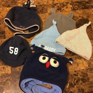 Baby boy hats 💕
